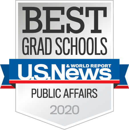 US News and World Report Best Public Affairs Programs 2019