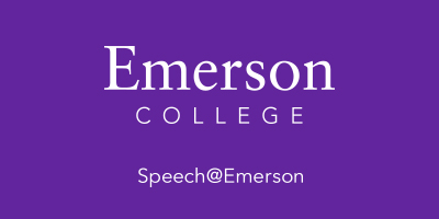 Learn more about Speech at Emerson